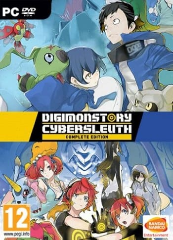 Digimon Story Cyber Sleuth: Complete Edition (2019) PC | Лицензия скачать торрент