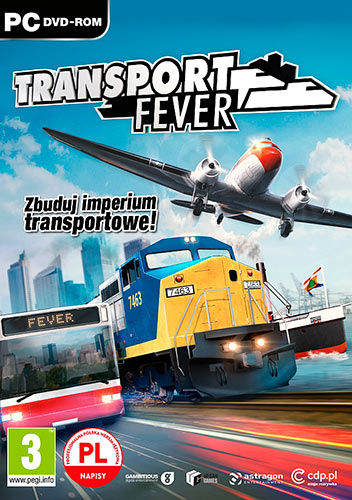 Transport Fever (2016/PC/Русский), Лицензия.
