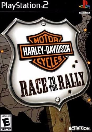 Harley-Davidson Motorcycles: Race to the Rally (2006) PS2.