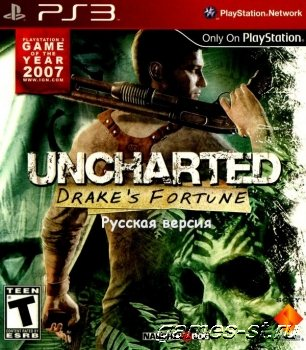 Uncharted: Drake's Fortune [PS3 Repack RUSSOUND] скачать через торрент