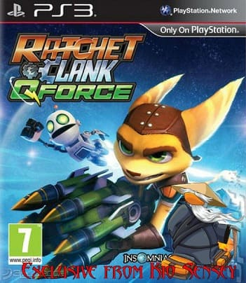 [PS3] Ratchet & Clank™ QForce [RUS] [PS3ExploitHAN] [Repack]