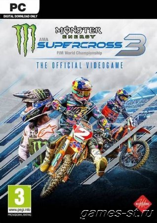 Monster Energy Supercross - The Official Videogame 3 (2020) PC | RePack от xatab