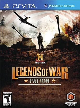 History: Legends of War Patton [Ps Vita] скачать торрент